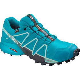 Salomon Speedcross 4 GTX Sko Damer, bluebird icy morn ebony